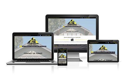 Ridgeline Exteriors on Desktop, Tablets and Mobile