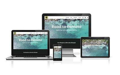 Road to Remote Website on Desktop, Tablets and Mobile