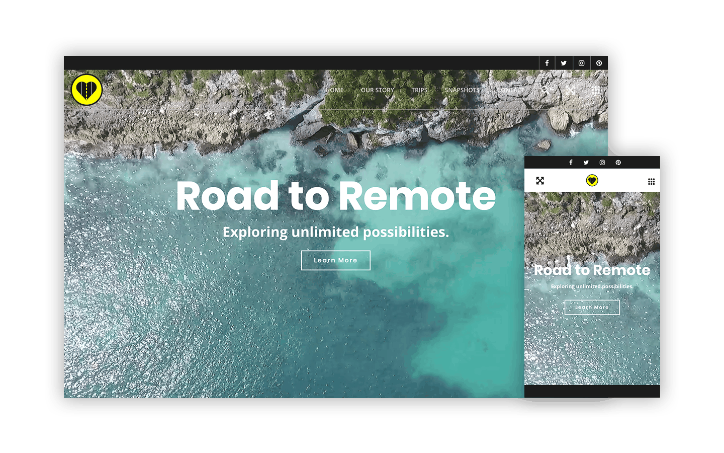 Road to Remote Website